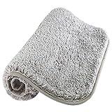 Ruisita 50 x 80 cm Indoor Doormat Non-slip Super Absorbent Water Door Mats Machine Washable Rubber Backing Doormat for Indoor and Outdoor