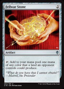 Magic The Gathering - Fellwar Stone (254/351) - Commander 2016