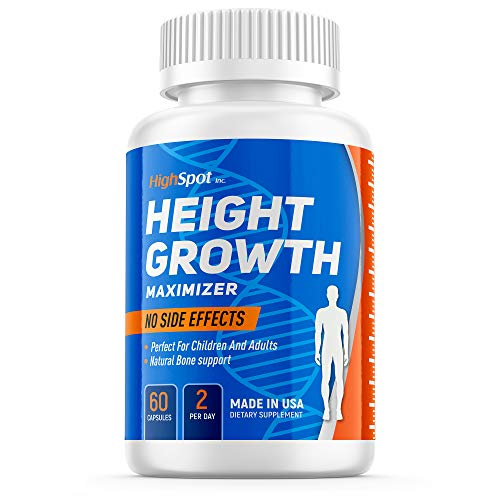 Height Growth Maximither - Natural Peak Height - Organic Formula to Grow Taller - Height Pills To Bone Grow Process - Get Taller Supplement - Growth Pills To Make You Taller - Made In Usa