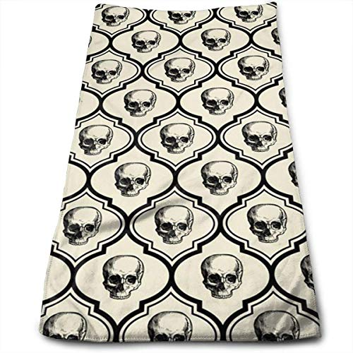 Hipiyoled Skulls - Bone Black Kühltuch für Sport-As Cooling Scarf Stirnband Armband Bandana-Stay Cool für Yoga Travel Climb GOL