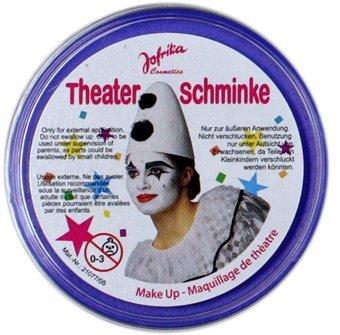 NET TOYS Maquillage Bleu - maquillages de Carnaval Bleus - Maquillage de théâtre - Maquillage de déguisement - Make up