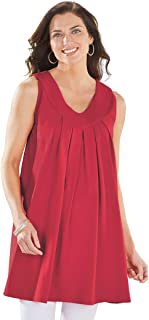Best red tunic tank top Reviews