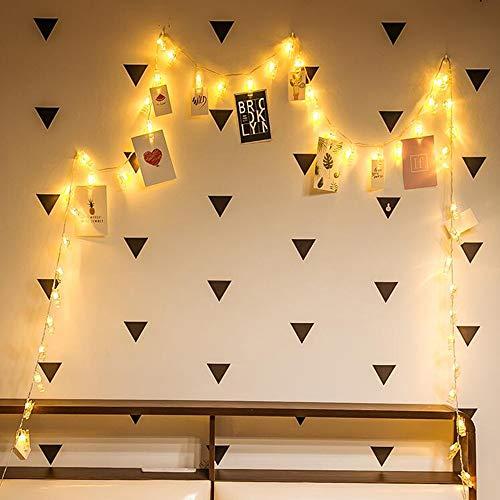 Titular de la foto de la tarjeta LED luces de Navidad led guirnalda boda Día de San Valentín decoración de la pared cadena de luz Batería 2m10 leds