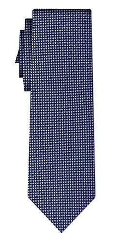 Cravate small diamond pattern, blue