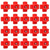 Aike Horizontal Side Mount Poultry Water Nipples Chicken Nipple,20-Pack