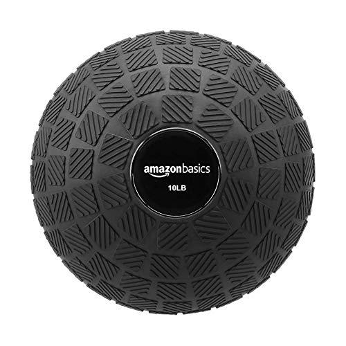 Amazon Basics Training Exercise Slam Ball  Square Grip 10Pound