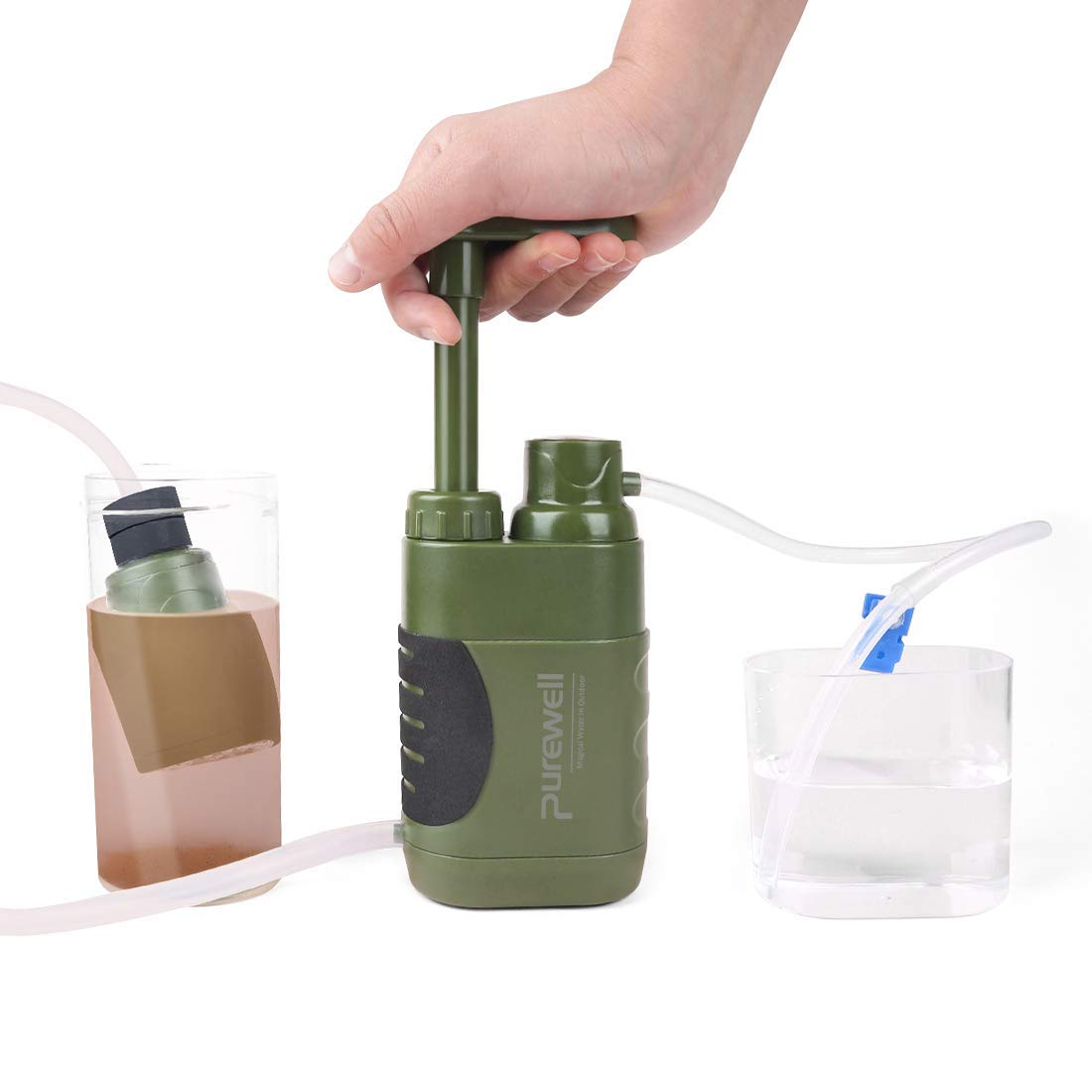 Filtro De Agua Personal Sistema FiltracióN Litro Al Aire Libre ...