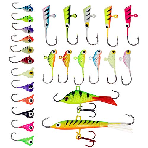 Zwming Ice Fishing Jigs