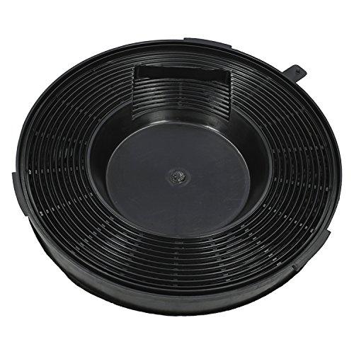 ✧WESSPER® Filter für Dunstabzugshaube Ignis AKS606WH (rund, kohle)