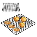 Griglia di raffreddamento, vassoio di cottura antiaderente di raffreddamento della griglia in acciaio inox del ripiano del forno per biscotti/torta/pane