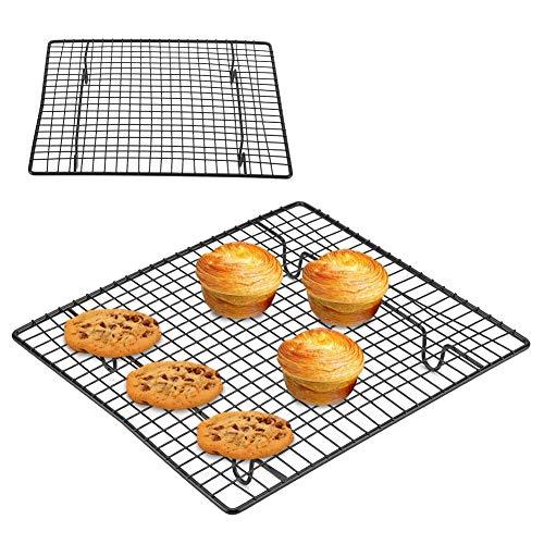 Cuisine Grille de refroidissement Plateau de cuisson anti-adhésif de refroidissement de la grille de l'acier inoxydable de l'étagère de la cuisinière pour le biscuit/le gâteau/le pain