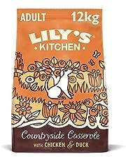 Lily`s Kitchen alimento seco súper premium sin granos para perros adultos   Pienso para perros con pollo, pato y boniato 12kg
