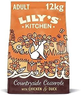 Lily`s Kitchen alimento seco súper premium sin granos para perros adultos | Pienso para perros con pollo, pato y boniato 12kg