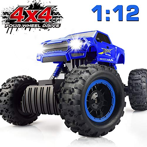 DOUBLE E Remote Control Trucks Monster RC Car 1:12 Scale Off Road...