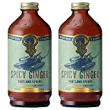 Portland Syrups Spicy Ginger Syrup (12 Fl Oz (Pack of 2))