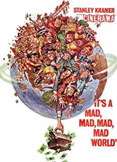 It's a Mad Mad Mad Mad World Poster Movie G 11x17 Spencer Tracy Sid Caesar Milton Berle Ethel Merman