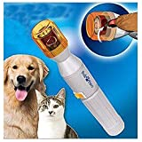 TAIYO PLUSS DISCOVERY® Pedi Paws Nail Grinder for Dogs & Cats/Powered Safe Auto Electric Pet Nail Clippers Trimmer Dog Cat Gentle Claw Paw Care Dog Nail Grinder/Grinder Grooming Drill File Kit