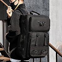 YYO 新メンズバックパックレジャーバックパック旅行バッグレトロツーリングバッグメンズバッグアウトドア登山バッグ防水