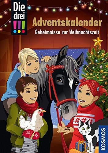 Die drei !!!, Geheimnisse zur Weihnachtszeit: Adventskalenderbuch mit Stickern