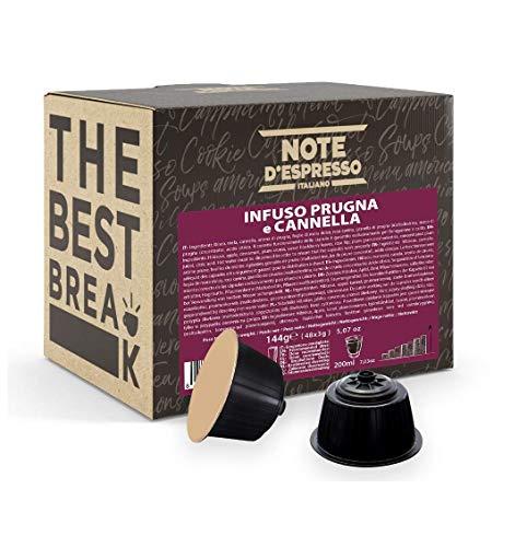 Note D'Espresso - Kapselmaschinen - ausschließlich kompatibel mit Nescafé* und Dolce Gusto*- Plum und Cinnamon Infusion - 3g x 48