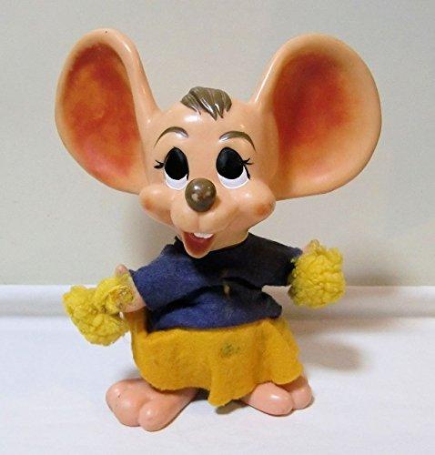 【マウス・バンク <チアリーダー(紫&黄色)>】 ROY DES OF FLA <1970年> ネズミ トッポジージョ(ではありません)