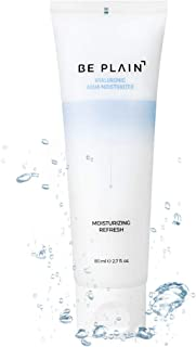 BE PLAIN Hyaluronic Aqua Moisturizer 2.7 fl oz. - Daily Moisturizing Cream for Face
