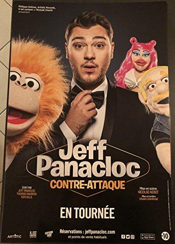 Générique Jeff Panacloc - Contre-Attaque - 40x60cm - Affiche/Poster