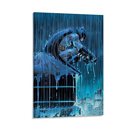 DRAGON VINES Batman John Romita Jr Dark Knight Tela pittura ad olio Ristorante hotel 60x90cm