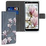 kwmobile Wallet Case kompatibel mit LG K30 (2019) - Hülle