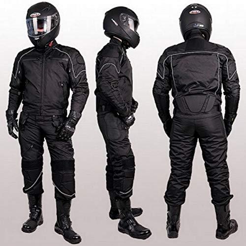 L&J MOTORRADKOMBI Jacke + Hose - AUS Textil für Motorrad Biker Chopper Cross