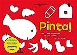 Pinta, un llibre per a pintar, jugar i dibuixar