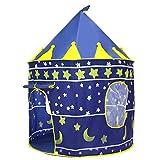 Kinder Schloss Reisezelt, automatische Camping Outdoor Pop-Up Zelt Spielhaus für Backpacking Beach...