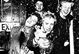 Sex Pistols Poster, Crackin' Beers, Johnny Rotten, Sid Vicious, Punk Rock