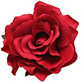 Geek-M Hair Flower Clips Brooch Boutique Hair Accessories Bohemia Hairpins for Women Girls (ST Red)