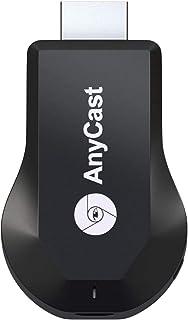 無線 HDMI クロームキャスト HD1080P ドングルレシーバー ワイヤレス HDMI ミラキャスト Airplayレシーバ 2.4G レシーバー アダプター スマホテレビ、無線HDMIアダプター ワイヤレスドングル Wi-Fi接続 モード...