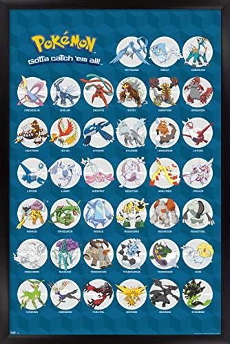 póster pokemon de la marca Trends International