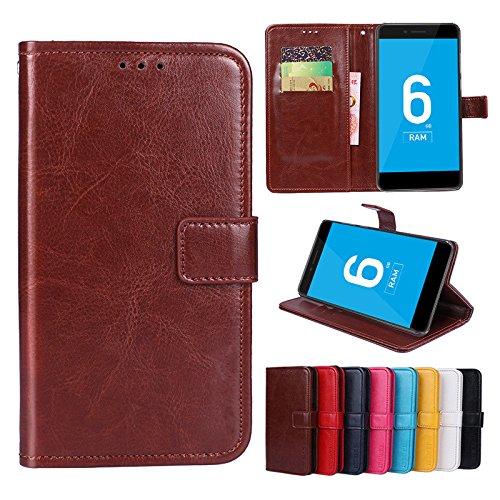 F&a® Flip Brieftasche Hülle für Vernee Mars Pro(Muster 8)
