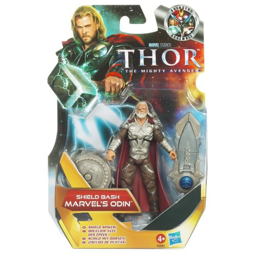 Thor Mighty Avenger Shield Bash Marvel's Action Figure - Odin