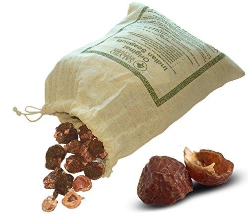 Salveo - Jabón natural indio, 1 kg, detergente ecológico para ropa