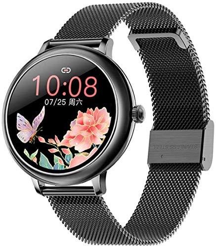 Cf80 reloj inteligente para mujer IP67 impermeable 1 1 pantalla táctil completa smartwatch con monitor de ritmo cardíaco podómetro seguimiento reloj deportivo para Android iOS C