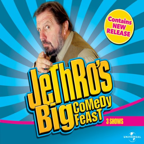 Jethro's Big Comedy Feast                   By:                                                                                                                                 Jethro                               Narrated by:                                                                                                                                 Jethro                      Length: 3 hrs and 37 mins     1 rating     Overall 2.0