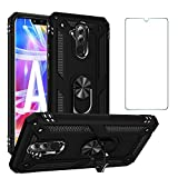 Phone Case for Huawei Mate 20 X with Tempered Glass Screen