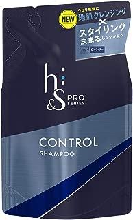 h&s PRO (エイチアンドエス プロ) メンズ シャンプー コントロール 詰め替え (スタイリング重視) 300mL