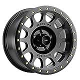 Method Race Wheels NV Matte Black Wheel with Zinc Plated Accent Bolts (17x8.5'/5x5') 0 mm offset
