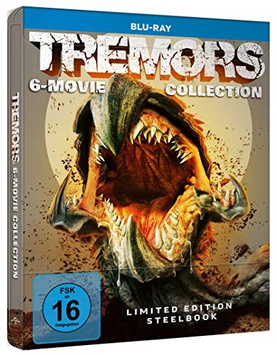 Tremors - 6-Movie Collection - Steelbook [Blu-ray]
