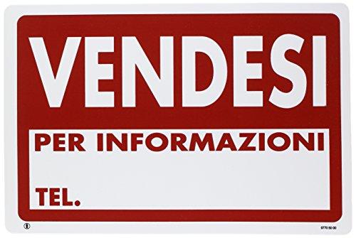 PUBBLICENTRO Cartelli Pubblicentro - plastica - vendesi per informazioni tel. - 30x20 cm - 07705000PLB0300X0200