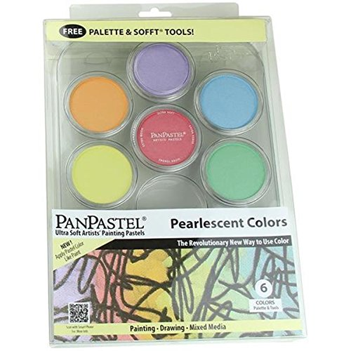 Colorfin Pan Pastel Pearlescent Painting set, 9 ml
