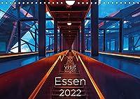 Visit Essen 2022 (Wandkalender 2022 DIN A4 quer): Essen, die wandelbare Stadt an der Ruhr - gruen, vielseitig und liebenswert (Monatskalender, 14 Seiten )