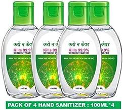 Karo Na Care Hand Sanitizer - Pack of 4