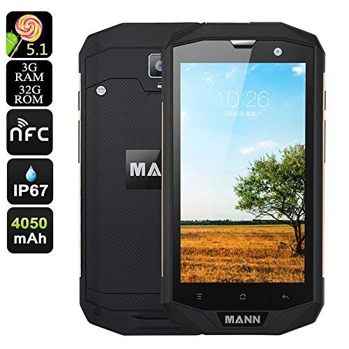 MANN ZUG 5S+ Smartphone Android 5.1 DUAL SIM 4G IP67 Resistente all'acqua Antipolvere 3gb Ram 32gb Memoria